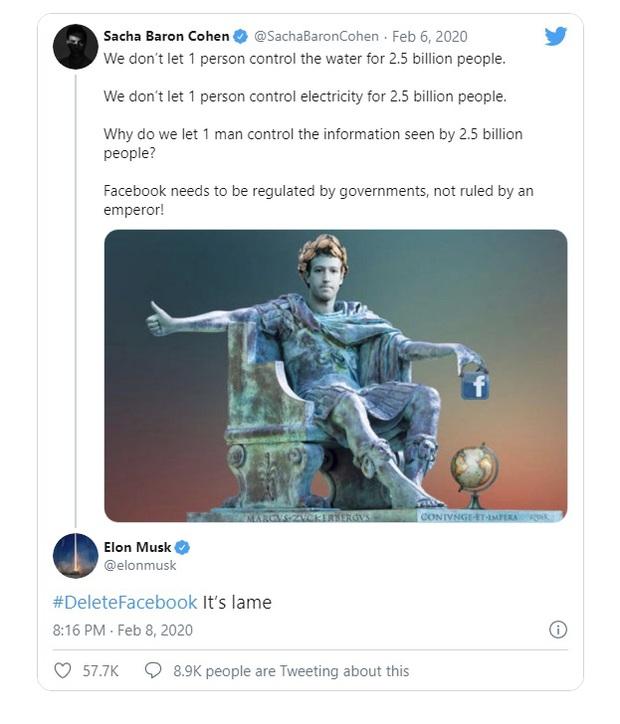 Mối thâm thù giữa Elon Musk và Mark Zuckerberg: Ghét nhau tới mức thẳng tay xóa trang Facebook của SpaceX, Tesla, gọi nhau là vô trách nhiệm - Ảnh 3.