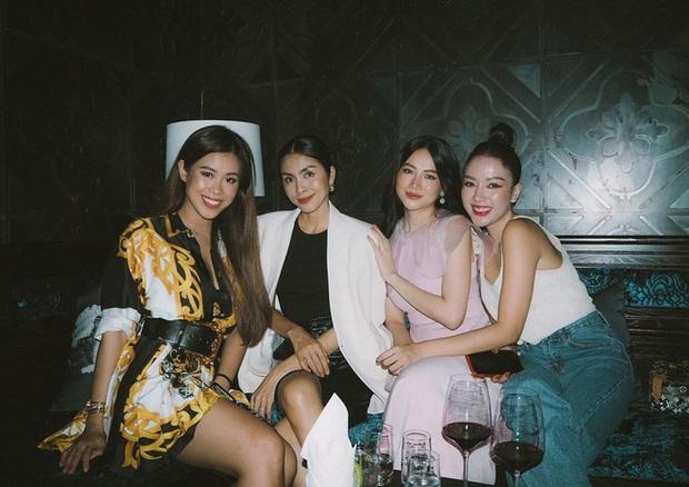 Style của Hà Tăng khi tụ tập với hội bạn: Không hề chơi trội lấn át ai, nhưng vẫn đẹp xinh chẳng chìm nghỉm giữa nhóm - Ảnh 8.