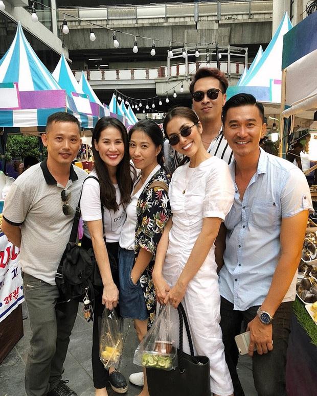 Style của Hà Tăng khi tụ tập với hội bạn: Không hề chơi trội lấn át ai, nhưng vẫn đẹp xinh chẳng chìm nghỉm giữa nhóm - Ảnh 9.