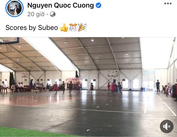 Hà Hồ và Cường Đô La cùng lộ diện để cổ vũ cho Subeo thi đấu ở trường, mối quan hệ hiếm có hậu tan vỡ - Ảnh 3.