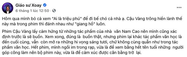 MXH bùng nổ bình luận trái chiều về Cậu Vàng: Khánh Vân, Hà Tăng, Châu Bùi đều khen ngợi nhưng khán giả lại nghĩ khác! - Ảnh 3.