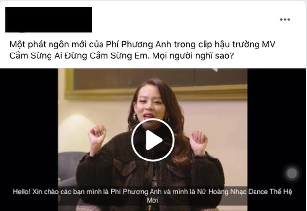Netizen tranh cãi phát ngôn gây sốc của Phí Phương Anh: Nữ hoàng nhạc dance thế hệ thảm họa hay gì? - Ảnh 5.