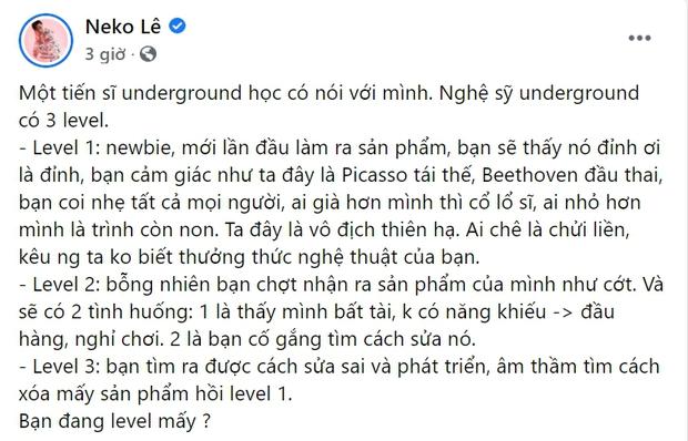 Đạo diễn triệu view đưa ra 3 cấp độ trong giới rap, netizen bay vào gọi tên từ R.Tee, Lệ Quyên đến trận diss giữa Torai9 và Rhymastic - Ảnh 2.
