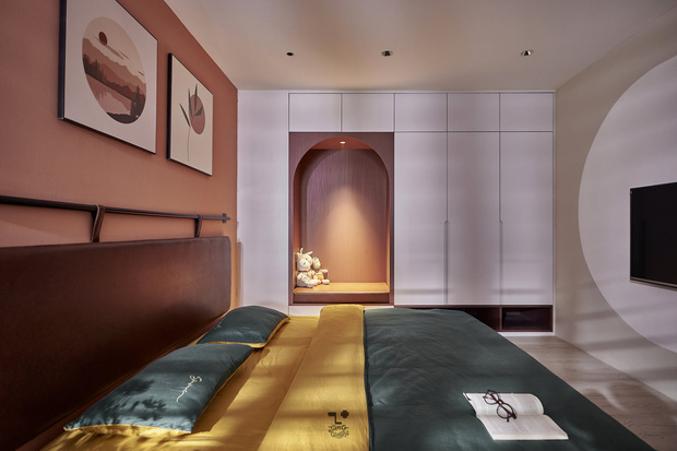 Kiến trúc sư kể chuyện nhà mình: Đập đi xây lại được căn hộ đẹp mê ly, nhìn hình thực tế mà cứ ngỡ ảnh 3D - Ảnh 8.