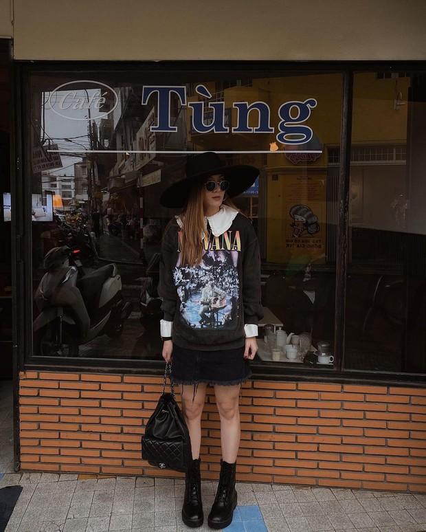 Instagram look của sao Việt: Chi Pu khoe body đồng hồ cát, Xoài Non mặc đơn giản mà xinh áp đảo chị em - Ảnh 10.