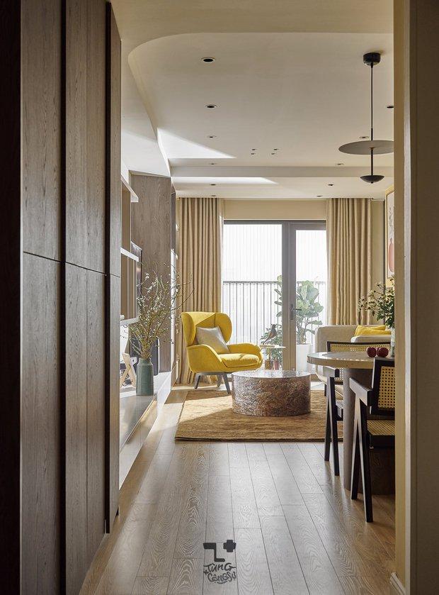 Kiến trúc sư kể chuyện nhà mình: Đập đi xây lại được căn hộ đẹp mê ly, nhìn hình thực tế mà cứ ngỡ ảnh 3D - Ảnh 4.