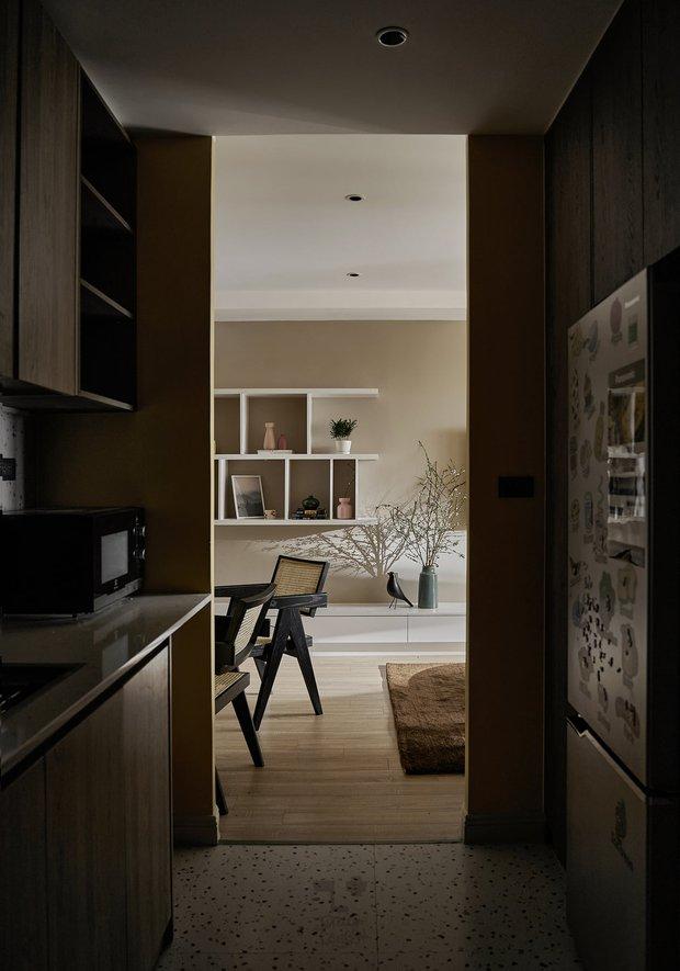 Kiến trúc sư kể chuyện nhà mình: Đập đi xây lại được căn hộ đẹp mê ly, nhìn hình thực tế mà cứ ngỡ ảnh 3D - Ảnh 15.