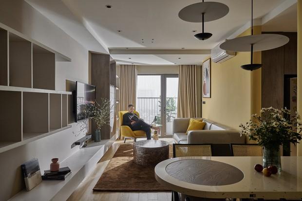 Kiến trúc sư kể chuyện nhà mình: Đập đi xây lại được căn hộ đẹp mê ly, nhìn hình thực tế mà cứ ngỡ ảnh 3D - Ảnh 2.