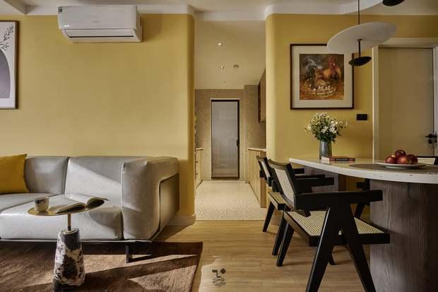 Kiến trúc sư kể chuyện nhà mình: Đập đi xây lại được căn hộ đẹp mê ly, nhìn hình thực tế mà cứ ngỡ ảnh 3D - Ảnh 5.