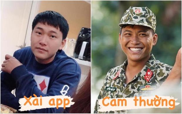 Mũi trưởng Long trong ảnh xài app vs khi chụp camera thường: Nhan sắc có thăng hạng vài bậc như chị em? - Ảnh 1.