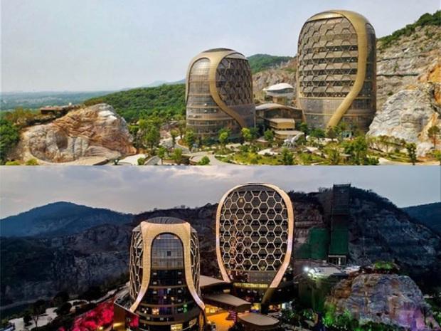 10 công trình kiến trúc Trung Quốc xấu phát hờn: Được đầu tư nghìn tỷ vẫn lọt top thảm họa vì khiến người dân nhức mắt - Ảnh 6.