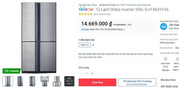 7 tủ lạnh đang sale đến 40%: Từ 3,6 triệu là sắm được một chú chất lượng đón Tết - Ảnh 7.