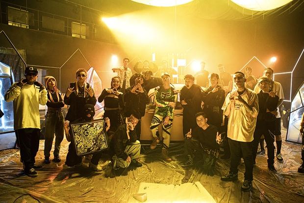 Karik ra MV mới kết hợp với thành viên SpaceSpeakers cùng dàn thí sinh Ricky Star, Hydra lẫn Nul đủ cả, chỉ thiếu mỗi GDucky là sao? - Ảnh 4.