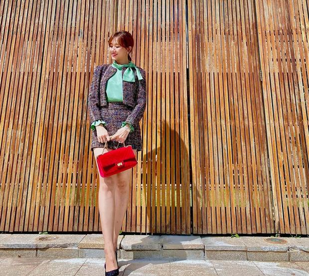 Instagram look của sao Việt: Chi Pu khoe body đồng hồ cát, Xoài Non mặc đơn giản mà xinh áp đảo chị em - Ảnh 9.