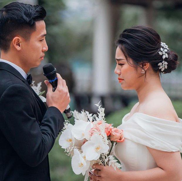 Khánh Linh bật khóc chia sẻ về Tiến Dũng: Em yêu anh vì những điều giản dị - Ảnh 1.