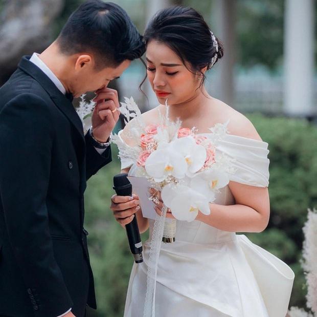 Khánh Linh bật khóc chia sẻ về Tiến Dũng: Em yêu anh vì những điều giản dị - Ảnh 2.
