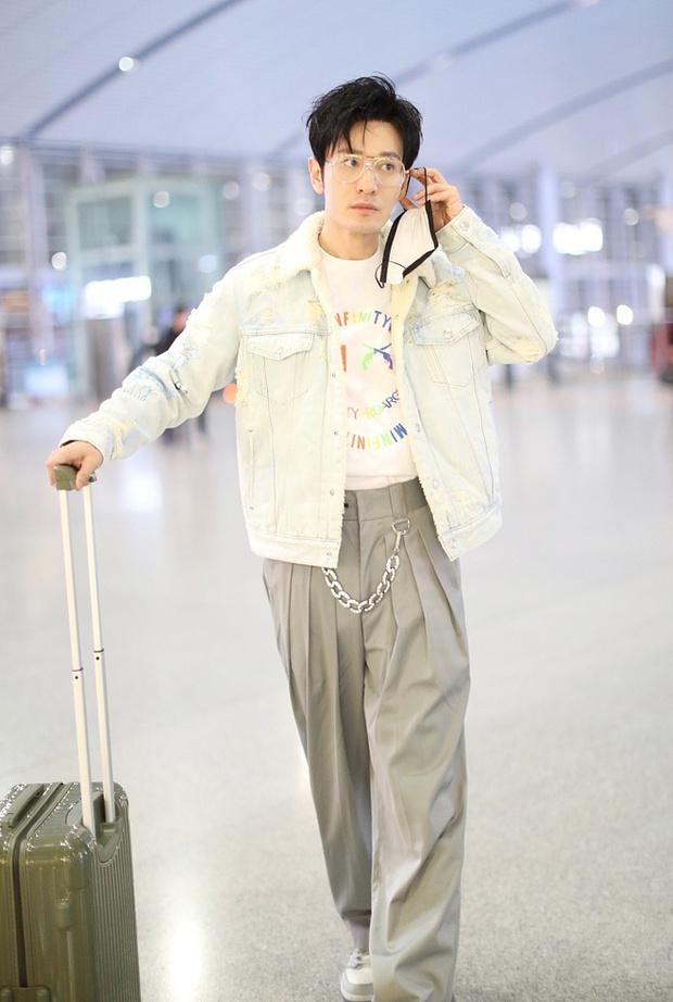 Choáng nặng với hình ảnh gầy rộc, đầu hói của Huỳnh Hiểu Minh hậu giảm 15kg, còn đâu vẻ đẹp soái ca Cnet ngưỡng mộ - Ảnh 5.