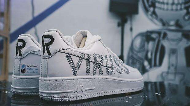 ViruSs khoe đôi sneaker được thiết kế riêng cực xịn sò, chẳng kém giày Xemesis tặng Tứ Hoàng Streamer - Ảnh 5.