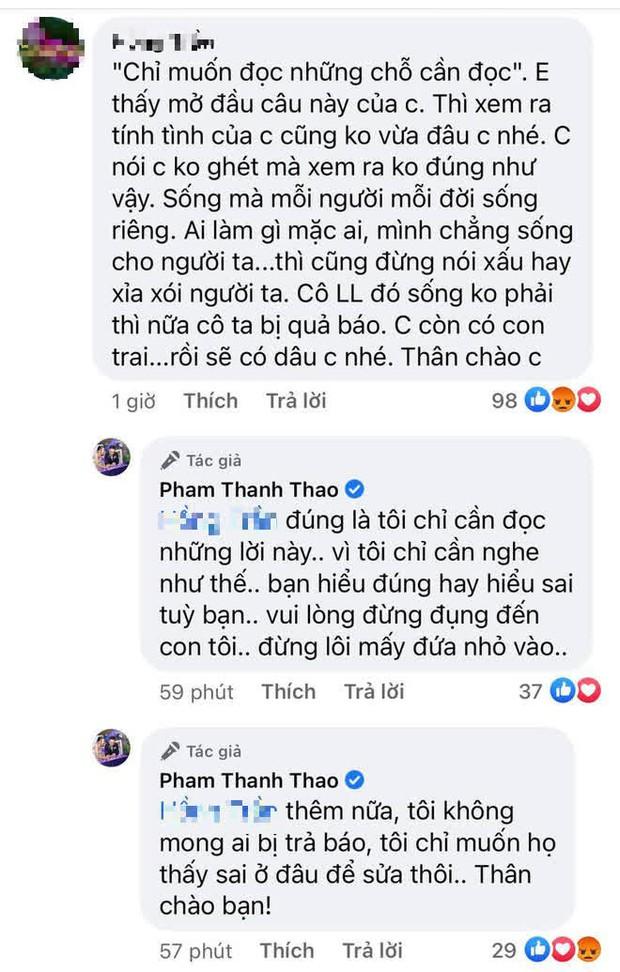 Phạm Thanh Thảo tiết lộ tình trạng của 2 con lớn NS Vân Quang Long, đáp trả căng đét khi bị netizen xúc phạm vì đấu tố Linh Lan - Ảnh 5.