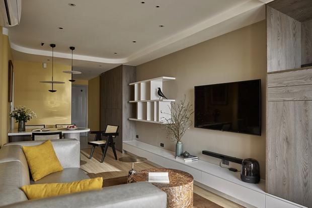Kiến trúc sư kể chuyện nhà mình: Đập đi xây lại được căn hộ đẹp mê ly, nhìn hình thực tế mà cứ ngỡ ảnh 3D - Ảnh 3.