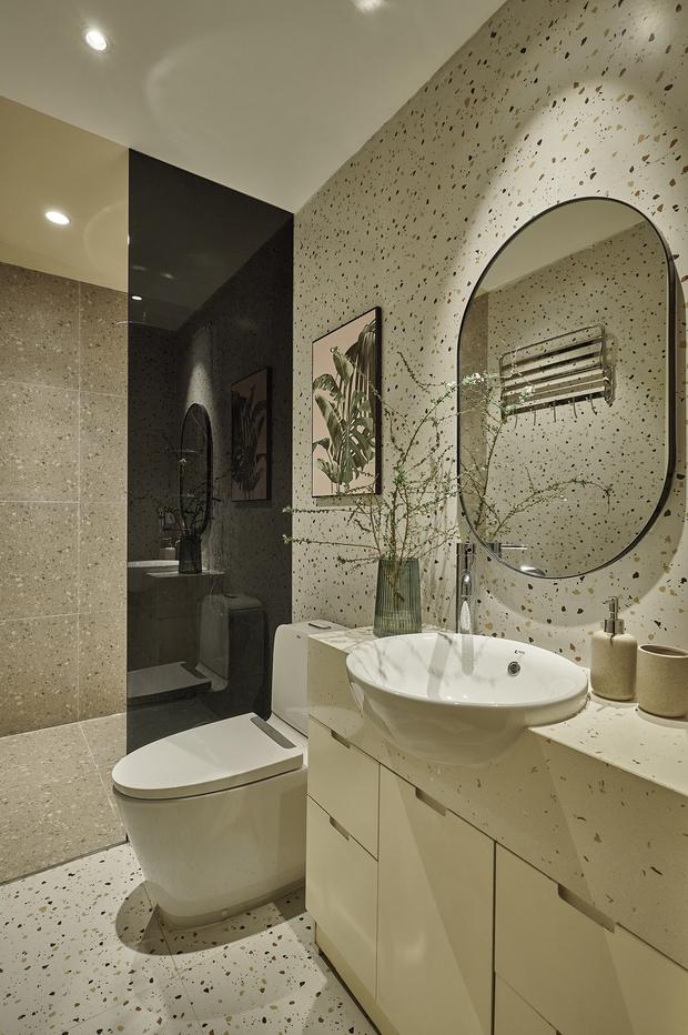 Kiến trúc sư kể chuyện nhà mình: Đập đi xây lại được căn hộ đẹp mê ly, nhìn hình thực tế mà cứ ngỡ ảnh 3D - Ảnh 11.