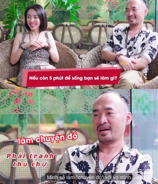 Chất như Tiến Luật: Tiết lộ việc muốn thực hiện nếu còn 5 phút để sống với Thu Trang, ai nghe cũng phải ngượng đỏ mặt! - Ảnh 2.