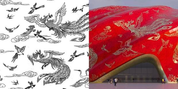 Công trình kiến trúc xấu nhất Trung Quốc khiến dân mạng cười mệt: Vừa loè loẹt gây nhức mắt lại u ám hệt như lối vào cõi âm - Ảnh 3.
