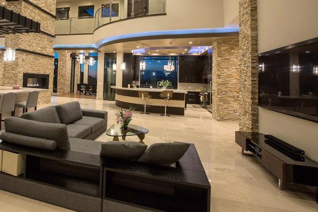 Cận cảnh biệt thự ở Mỹ của Đan Trường: Sang chảnh như khách sạn 5 sao, diện tích 4000m2 đi mỏi chân không hết - Ảnh 6.