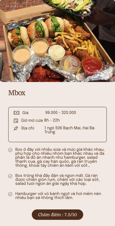 Bỏ túi 5 quán ship box ăn vặt quanh Hà Nội: Đủ lựa chọn cho các mọt ăn nhâm nhi mỗi xế chiều - Ảnh 1.