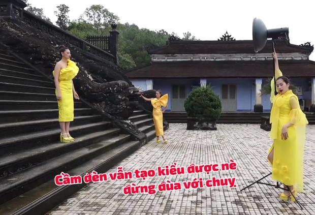 Nam Em đi show với dàn Hoa hậu, Á hậu: Thần đèn thể trạng yếu nhưng vẫn vô cùng lầy lội - Ảnh 5.