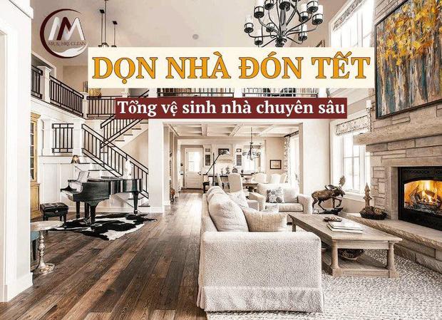 Dịch vụ dọn dẹp chuyên sâu cho nhà giàu: 144k/m2, dọn nguyên căn tốn đến vài chục triệu - Ảnh 1.