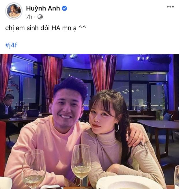 Chia tay rồi nhưng Huỳnh Anh bất ngờ đăng ảnh cũ với Quang Hải, tuy nhiên lại sửa một chi tiết đặc biệt - Ảnh 2.