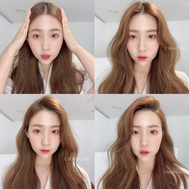 Hair stylist Hàn khuyên thật: Đừng vội đi cắt tóc, chỉ cần đổi ngôi thôi là bạn đã khác lắm rồi - Ảnh 1.