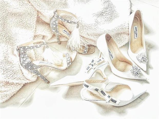 Ngọc Trinh khoe ảnh nude trong bồn tắm nhưng đôi giày công chúa 120 triệu mới là thứ khiến netizen lo lắng - Ảnh 7.