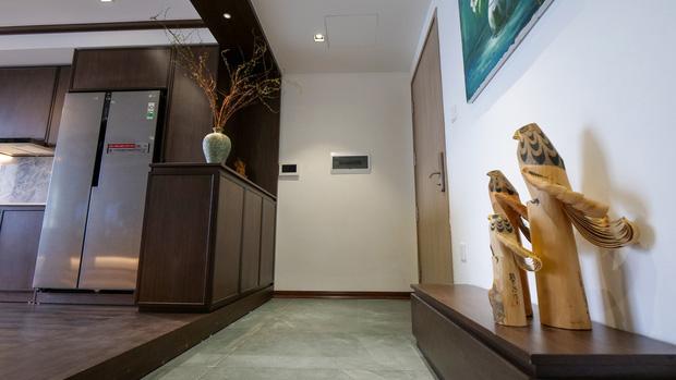 Căn hộ Vinhomes với phong cách Nhật Bản tinh tế và tiện nghi, ăn tiền nhất là view đắt giá bao trọn VinUni - Ảnh 1.