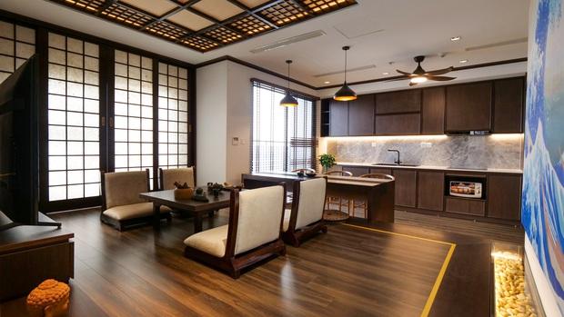 Căn hộ Vinhomes với phong cách Nhật Bản tinh tế và tiện nghi, ăn tiền nhất là view đắt giá bao trọn VinUni - Ảnh 7.