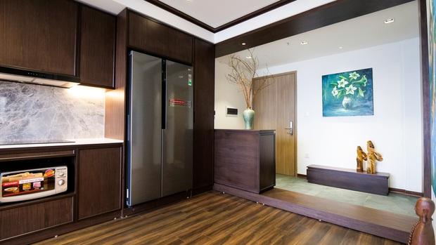 Căn hộ Vinhomes với phong cách Nhật Bản tinh tế và tiện nghi, ăn tiền nhất là view đắt giá bao trọn VinUni - Ảnh 2.