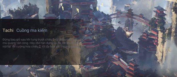 Liên Quân Mobile: Lộ diện tướng mới Tachi - Cuồng ma kiếm, tiếp tục là một ninja của Đảo Sương Mù - Ảnh 4.