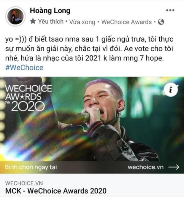 Cổng bình chọn WeChoice Awards 2020 vừa mở, dân tình đã kêu gọi vote ào ào tưng bừng trên MXH - Ảnh 14.
