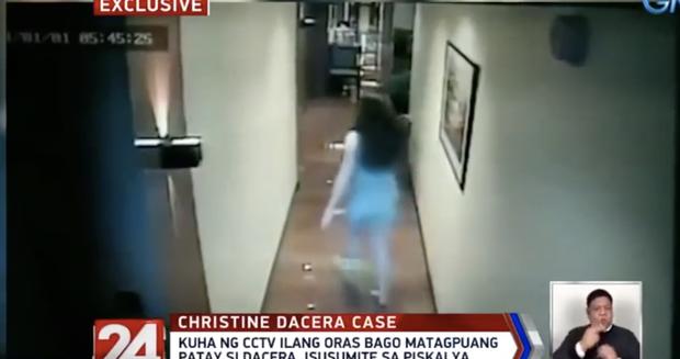 Vụ Á hậu Philippines tử vong trong khách sạn: CCTV mới nhất cho thấy dường như có tranh cãi xảy ra sau khi cô gái được bế về phòng lần cuối - Ảnh 2.