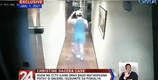 Vụ Á hậu Philippines tử vong trong khách sạn: CCTV mới nhất cho thấy dường như có tranh cãi xảy ra sau khi cô gái được bế về phòng lần cuối - Ảnh 3.