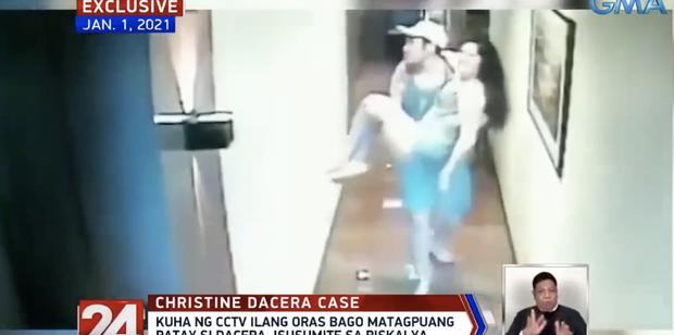 Vụ Á hậu Philippines tử vong trong khách sạn: CCTV mới nhất cho thấy dường như có tranh cãi xảy ra sau khi cô gái được bế về phòng lần cuối - Ảnh 4.