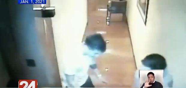 Vụ Á hậu Philippines tử vong trong khách sạn: CCTV mới nhất cho thấy dường như có tranh cãi xảy ra sau khi cô gái được bế về phòng lần cuối - Ảnh 5.