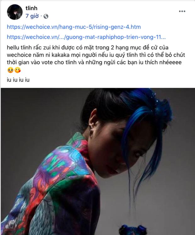 Các nghệ sĩ Việt nô nức kêu gọi bình chọn tại WeChoice Awards 2020, cuộc chiến fandom đang vô cùng gay cấn! - Ảnh 17.