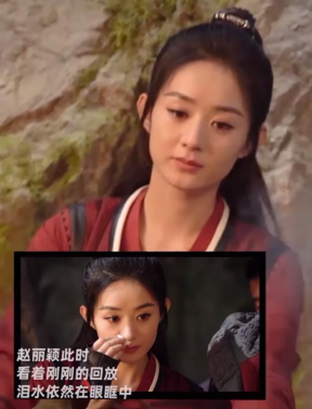 Triệu Lệ Dĩnh quay cảnh khóc một phát ăn ngay ở Hữu Phỉ - Ảnh 3.