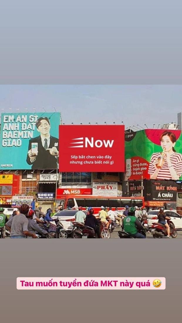 Thực hư sự xuất hiện của bảng quảng cáo Now tại góc đường Hari Won - Trấn Thành đang đối đáp - Ảnh 1.