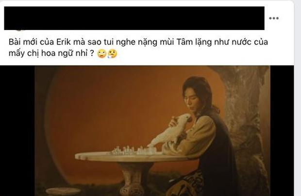 Vừa comeback, ca khúc của Erik đã bị nghi vấn đạo nhạc Hoa ngữ, đến hit Sơn Tùng M-TP cũng bị réo tên? - Ảnh 4.