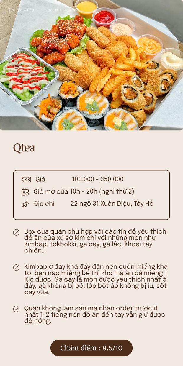 Bỏ túi 5 quán ship box ăn vặt quanh Hà Nội: Đủ lựa chọn cho các mọt ăn nhâm nhi mỗi xế chiều - Ảnh 2.