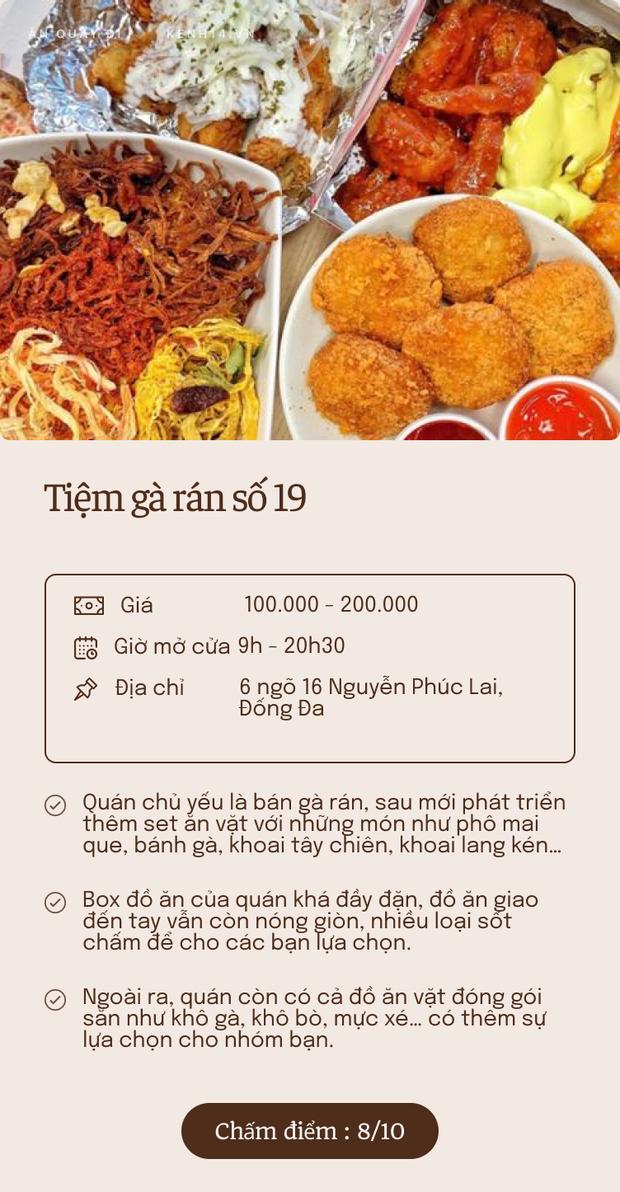 Bỏ túi 5 quán ship box ăn vặt quanh Hà Nội: Đủ lựa chọn cho các mọt ăn nhâm nhi mỗi xế chiều - Ảnh 5.