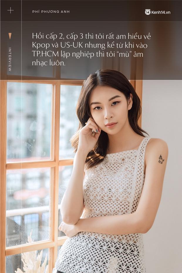 Phí Phương Anh: Tôi thần tượng và có rất nhiều thứ cần hỏi chị Chi Pu trên con đường âm nhạc của mình - Ảnh 12.